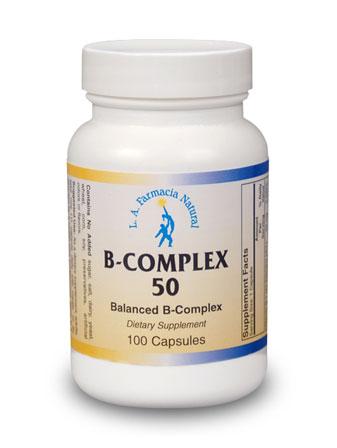B-COMPLEX 50mg 100Caps-0