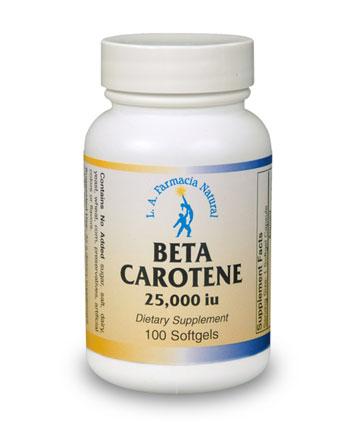 BETA CAROTENE 25000 UI-0