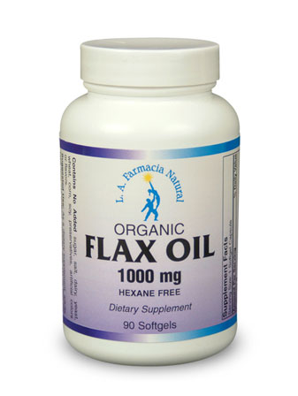 FLAX OIL 1000mg 90Caps-0