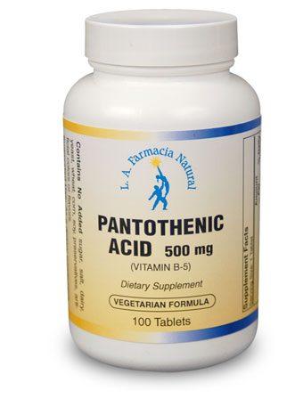 PANTHOTENIC ACID-0