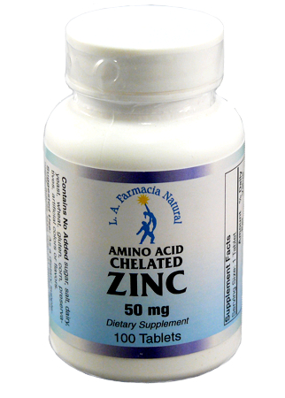 ZINC 50 mg 100Tabs-0
