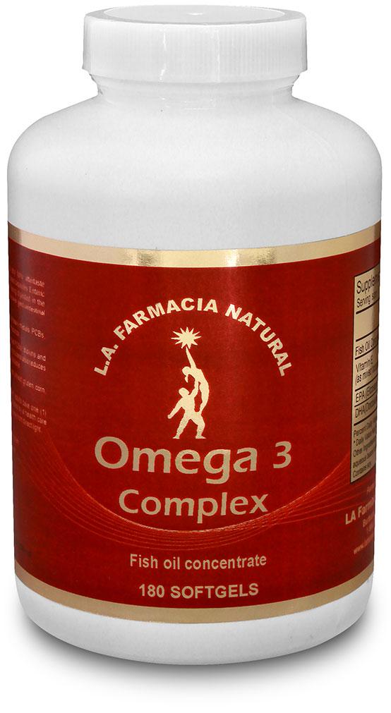 OMEGA 3 COMPLEX 180 CAPS-0