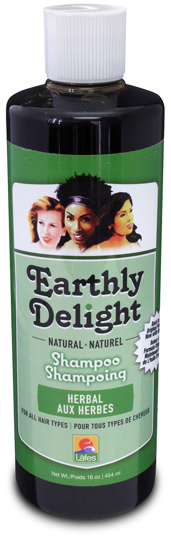SHAMPOO EARTHLY DELIGHT HERBS 16 OZ-0